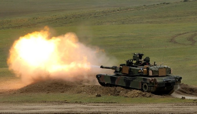 Taiwan has ordered Abrams tanks from the US. Photo: Reuters