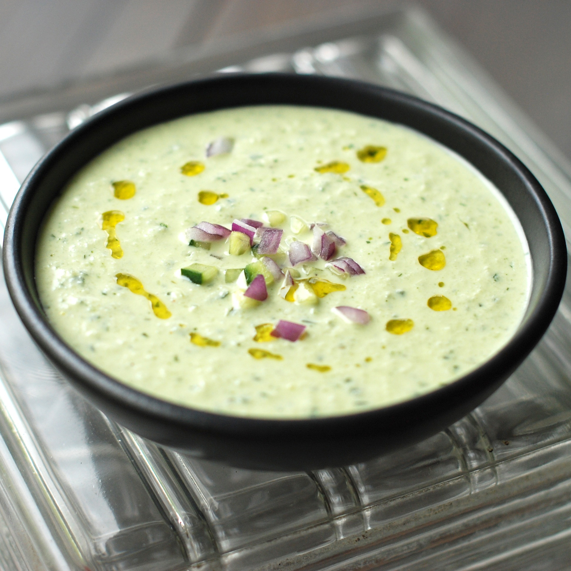 Image result for Cold Cucumber Soup with Yogurt and Dill