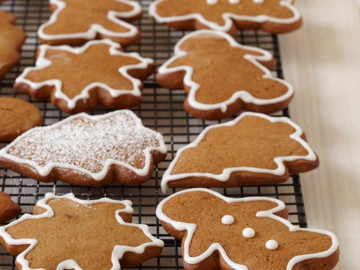 Gingerbread Cookies With Royal Icing Recipe Michael Mina