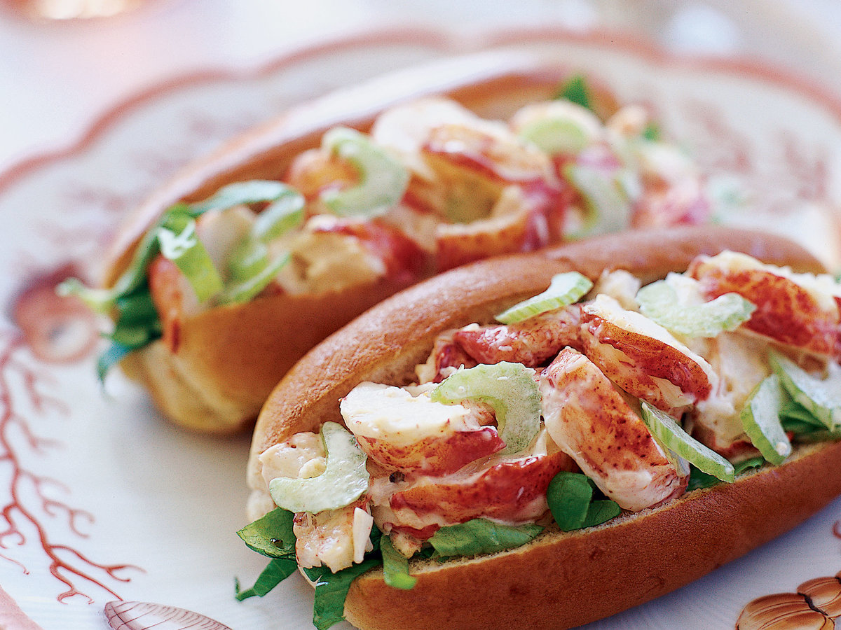 Maine Lobster Roll Recipe - Sam Hayward | Food & Wine