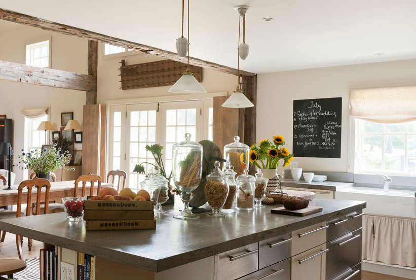 The Countertop Look to Try If You're Totally Over Granite ... on Countertop Decor  id=16191