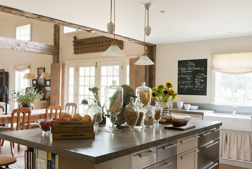 Must-Have Farmhouse Kitchen Decor Ideas | Real Simple on Kitchen Counter Decor Modern  id=44706