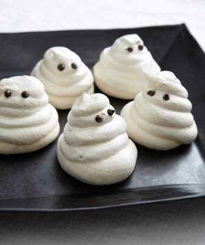 Meringue Ghost Cookies
