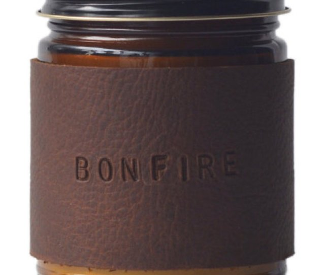 Gift Ideas For Men For Valentines Day And Birthdays Bonfire Candle