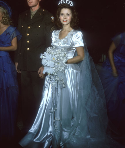 Shirley Temple Celebrity Wedding Dresses Real Simple