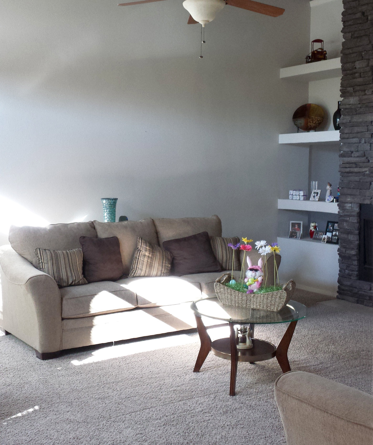 """7 Quick Fixes for a """"Finished"""" Living Room 