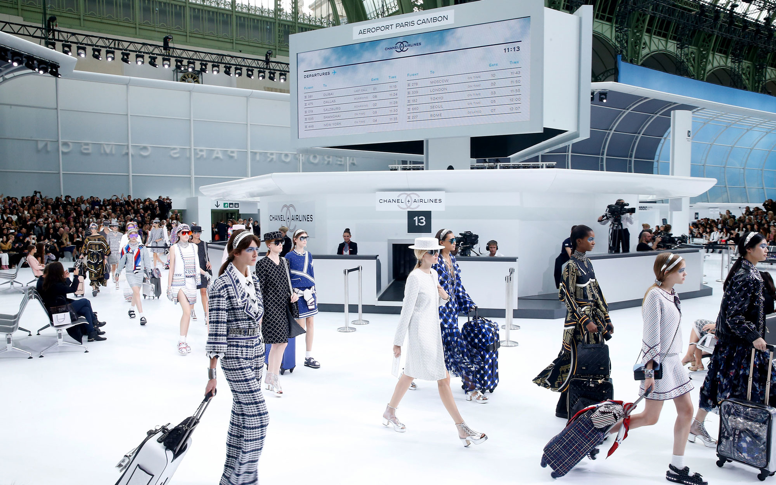 Chanel Airlines Debuts At Paris Fashion Week Travel