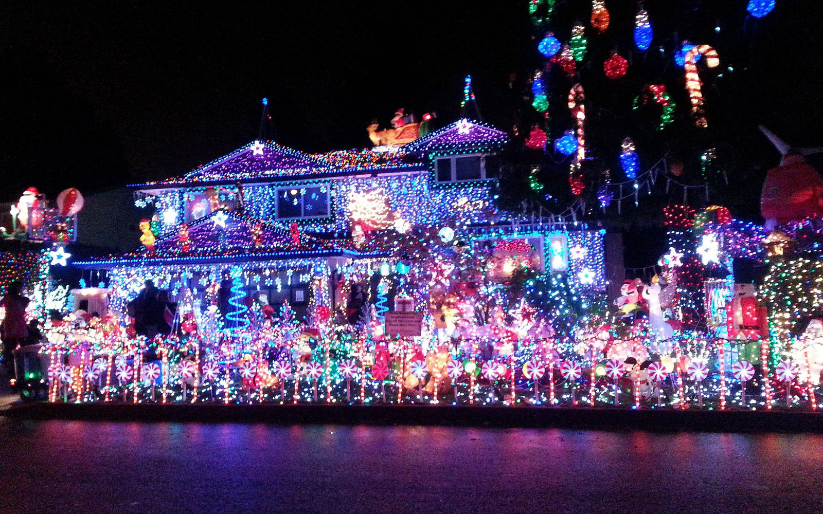 Christmas Light Show Nj