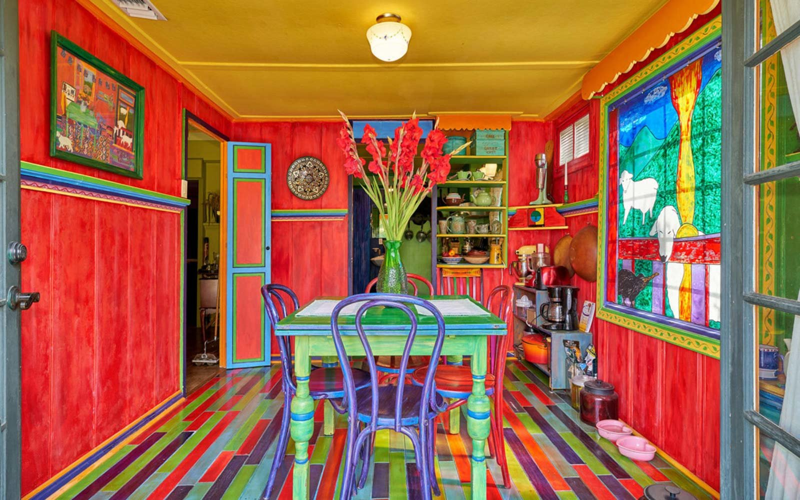 Palm Springs Most Colorful Cottage Is For Sale Just In