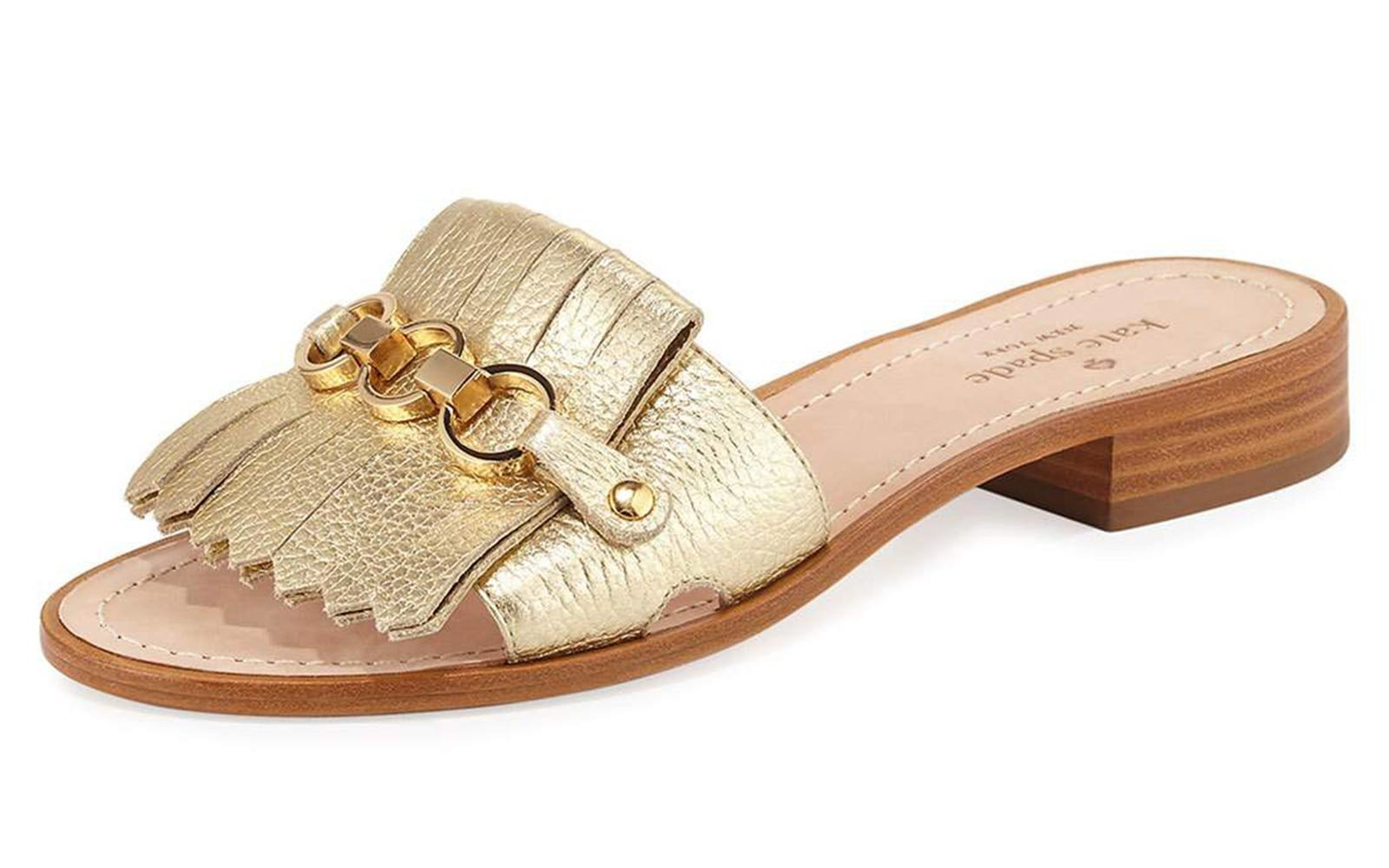 7cf8a754c Kate Spade Shoes Nwot Sandals In Gold Poshmark. The Best Beach Sandals For  Your Next Vacation Travel Leisure