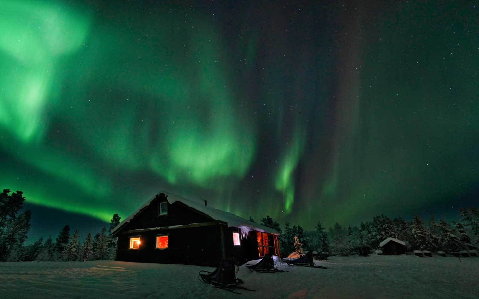 Best Place Sweden See Northern Lights