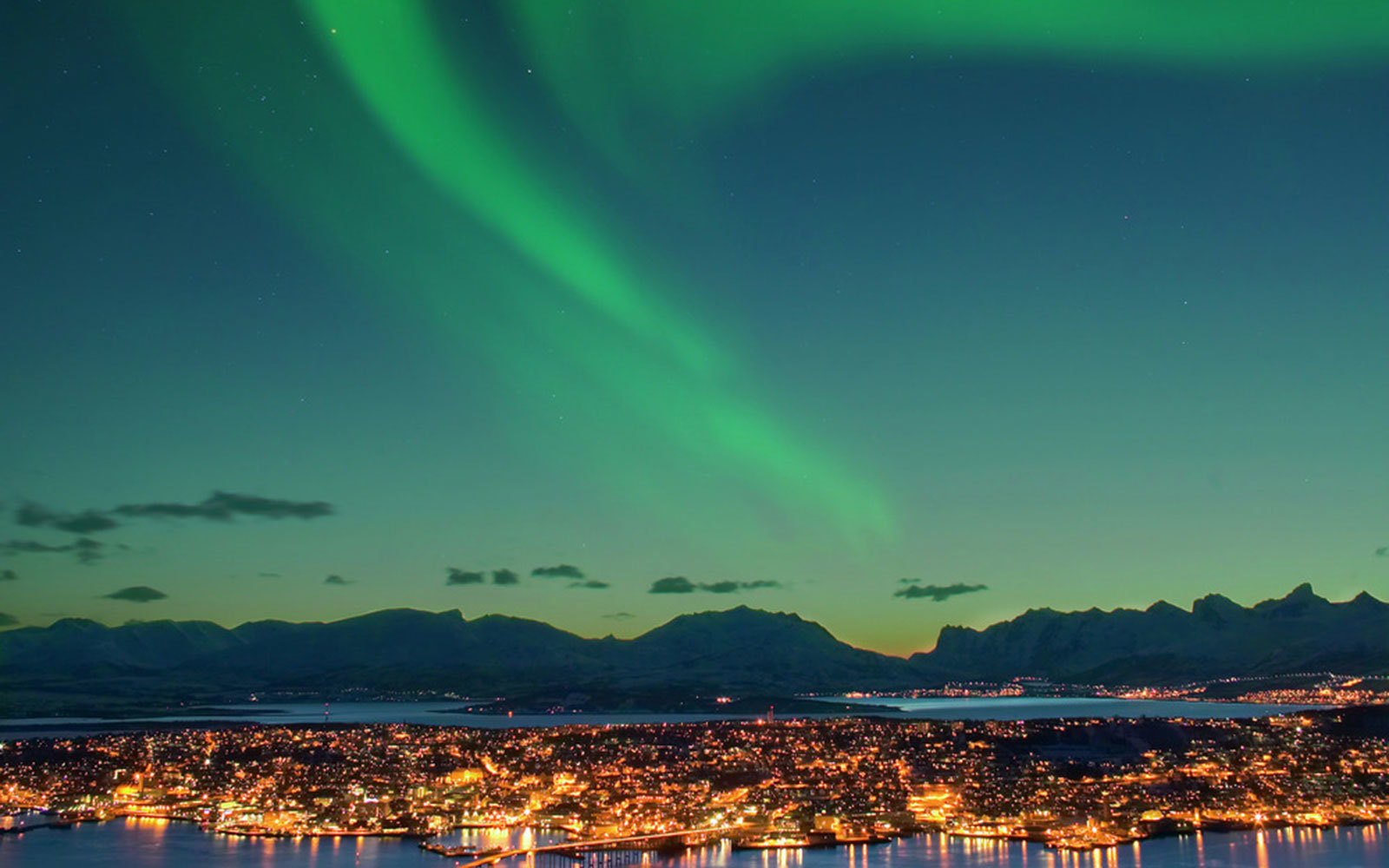 Best Place See Northern Lights February