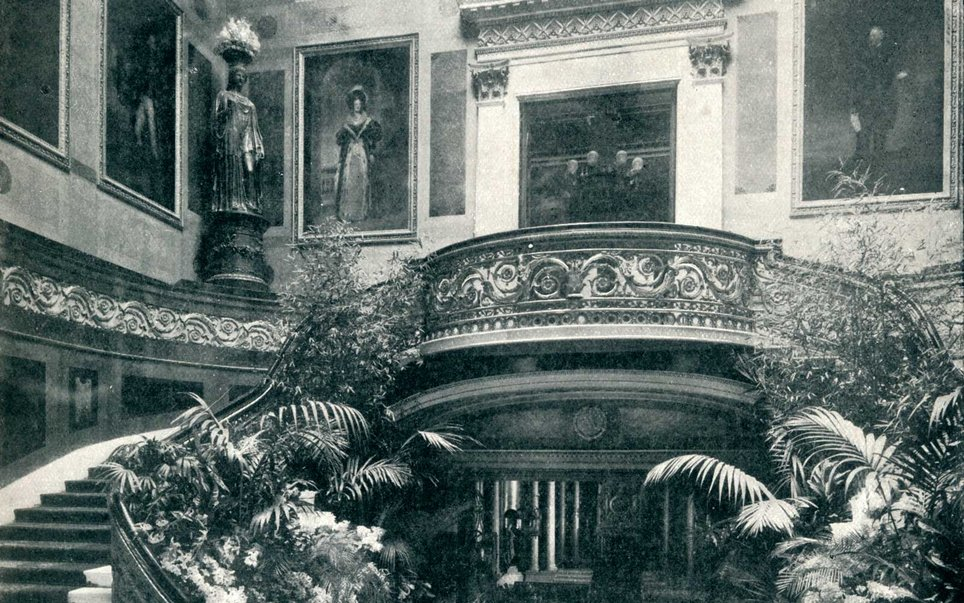 The Grand Staircase circa 1899
