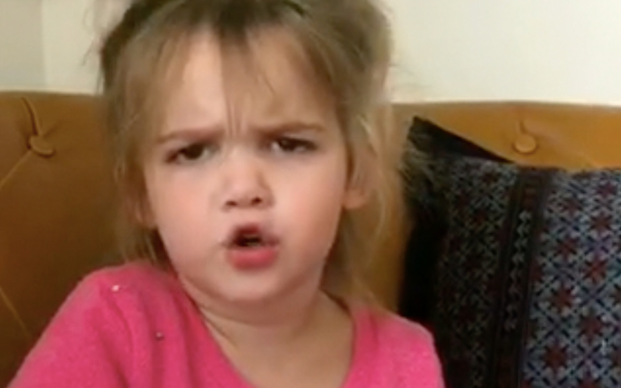 Adorable Little Girl Says What We All Think About Other