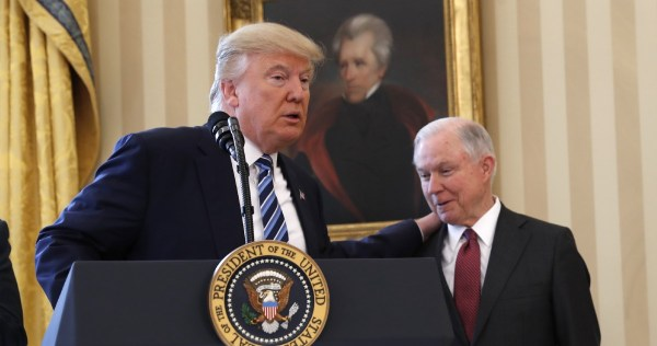 Jeff Sessions began his term as attorney general fear ...