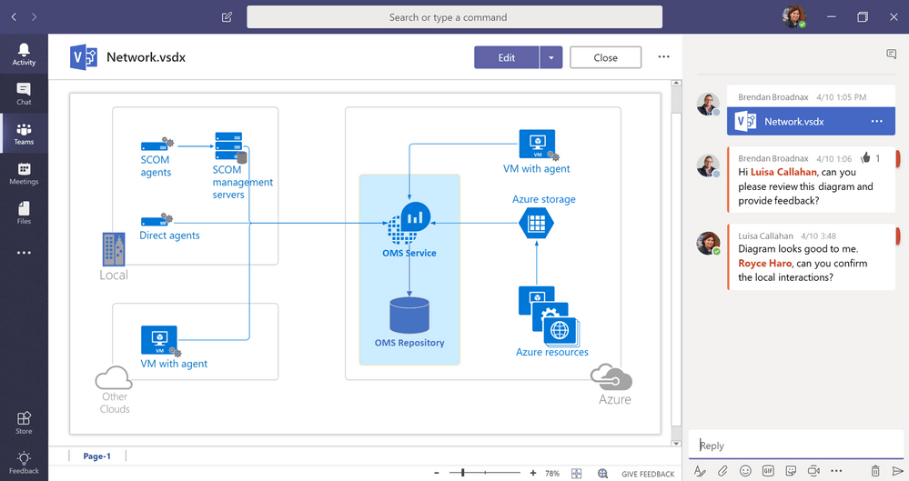 Microsoft Teams Introduces Visio Support & More Apps