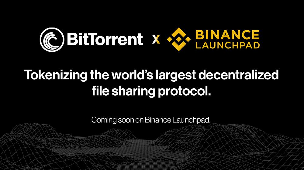 BitTorrent (BTT) on Binance Launchpad