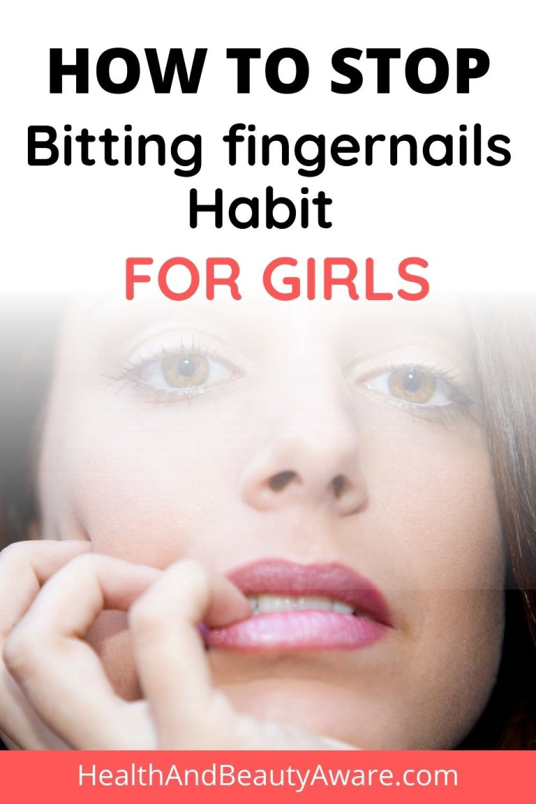 How to Stop Bitting fingernails Habit for Girls