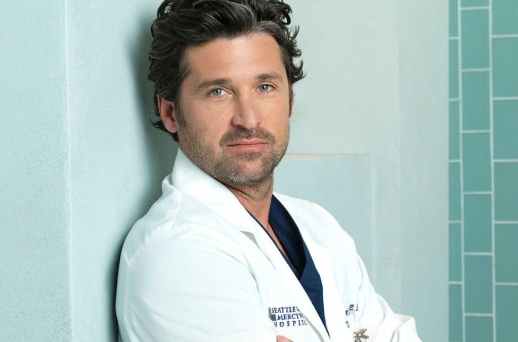 Patrick Dempsey Greys Anatomy