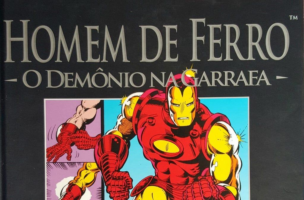Homem de Ferro Demonio Garrafa 3