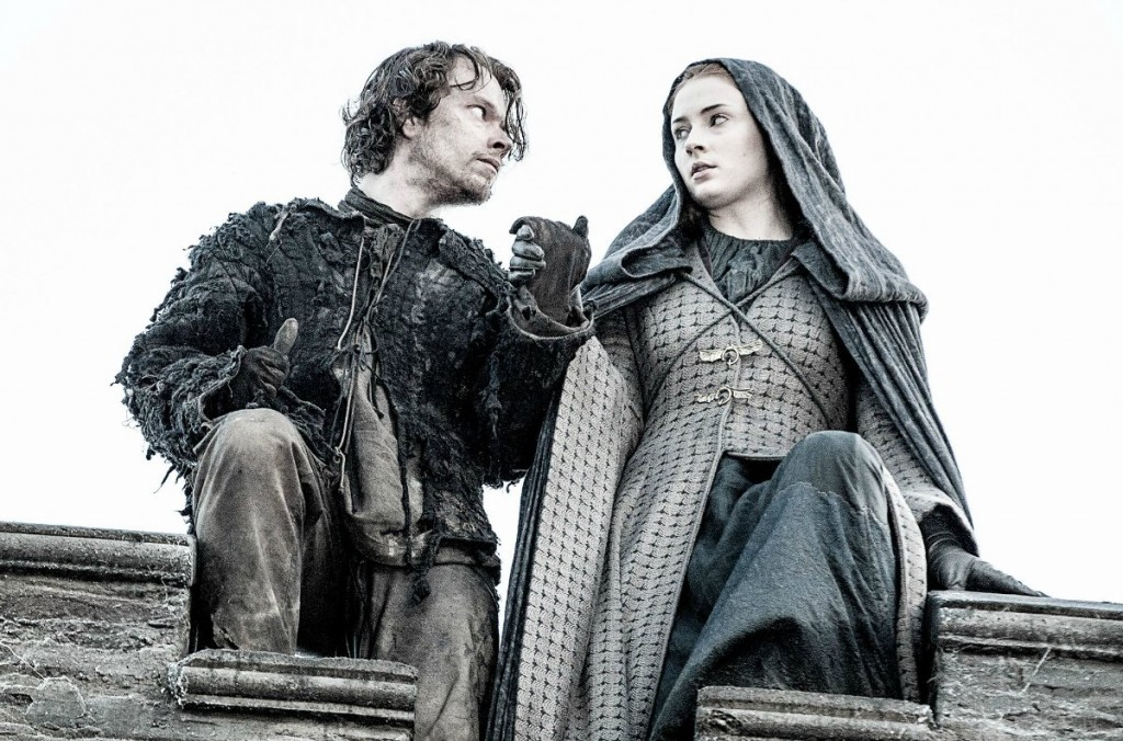 Theon e Sansa - Game of Thrones