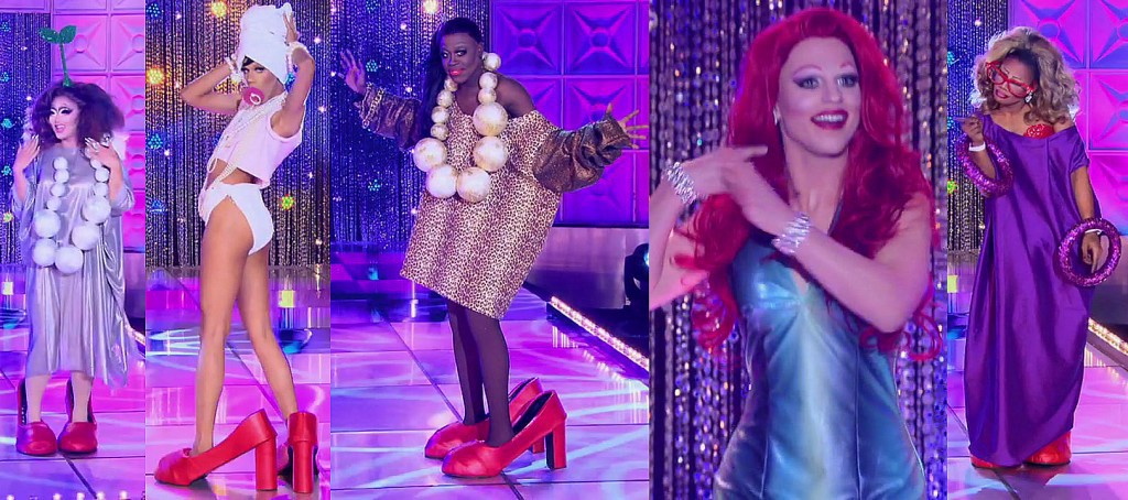 RuPauls Drag Race 8x08 RuPaul Book Ball Baby Drag Realness