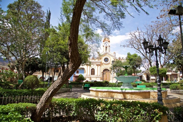Mystical Destinations Image: The fountain of youth may be the ultimate in mystical destinations. In this photograph we see a lovely fountain in Vilcabamba.