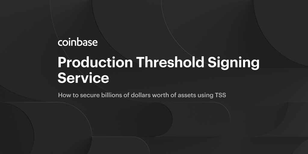 Production Threshold Signing Service