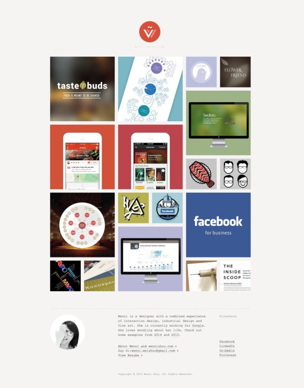 1*ecN3TJQF1O8NM78jyLizsg 5 great design portfolios from students who are hired by Google and Facebook Design Random