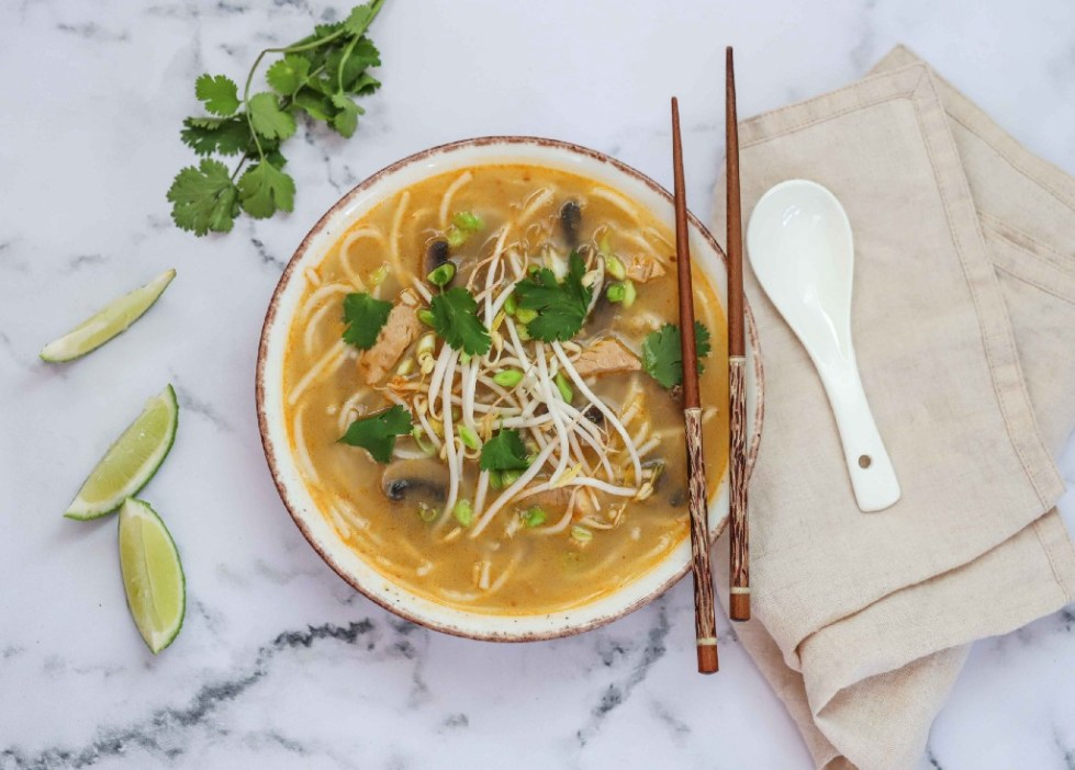 Thai Chicken Soup by FIT & NU