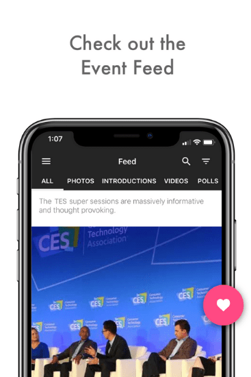 container event app by Hubilo