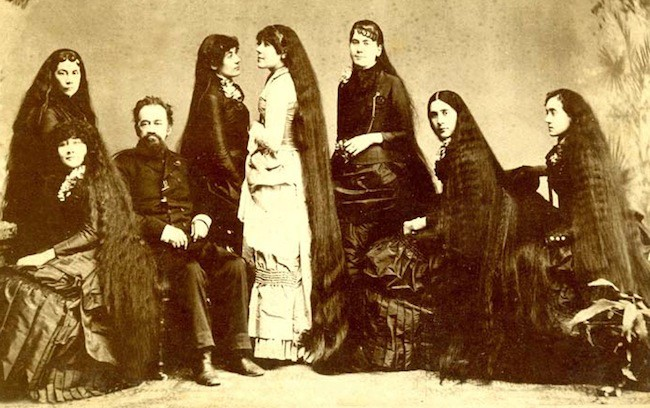 Untangling The Tale Of The Seven Sutherland Sisters And