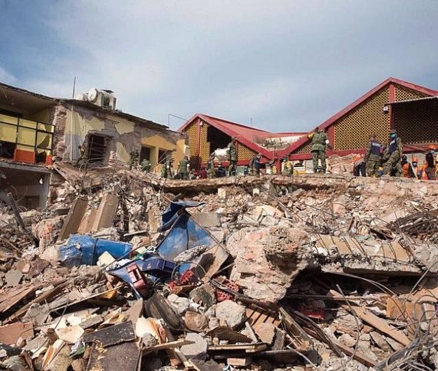 Aftermath Of The 2017 Chiapas Earthquake Source Presidencia De La Republica Mexicana Flickr