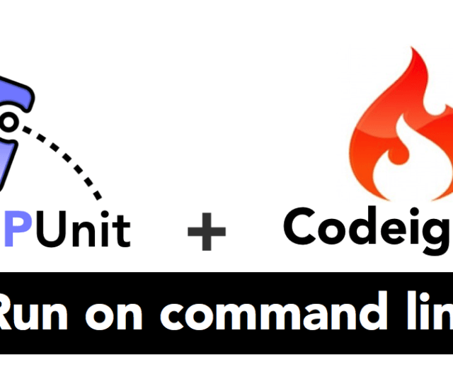 Setup And Run Unit Testing In Phpunit With Codeigniter Using Command Line