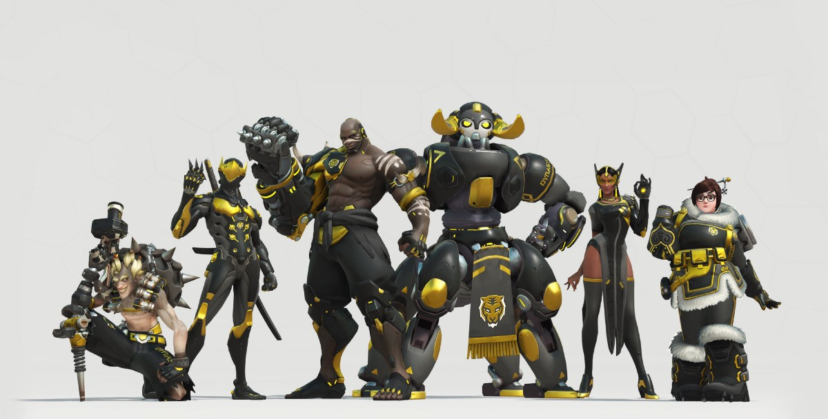 Overwatch League All Team Uniforms And Current Rosters