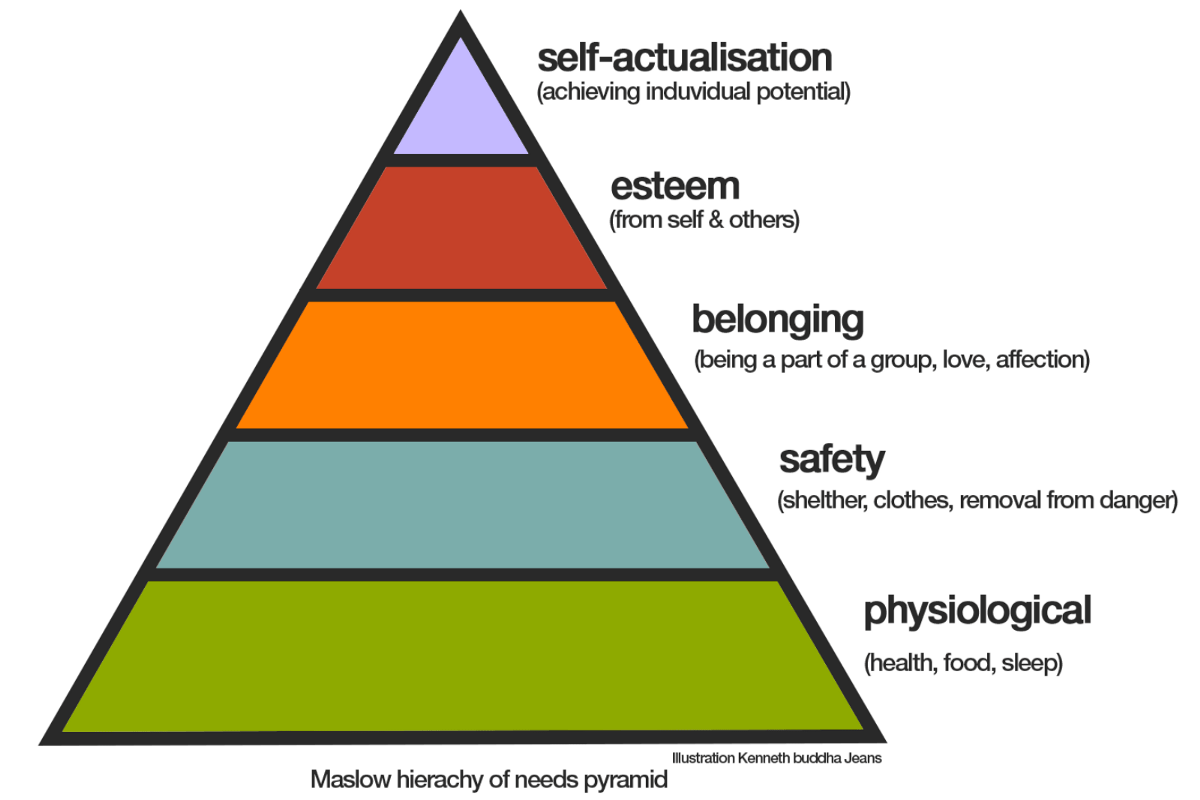 Maslow Hierarchy Needs Worksheet Answers
