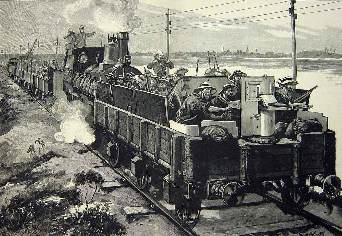 Steam Trains Were 19th Century Super Weapons War Is