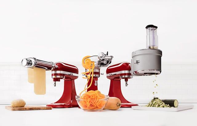 KitchenAid Mixer Attachments All 83 Attachments Add Ons