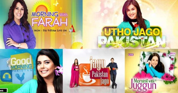 Morning Shows Of Pakistani Channels Are Popular Around The ...