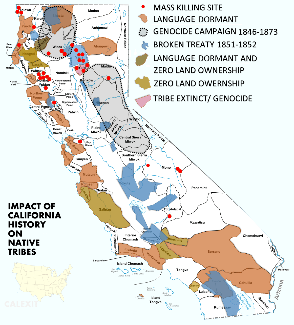 The Collective Impact Of California History On Native
