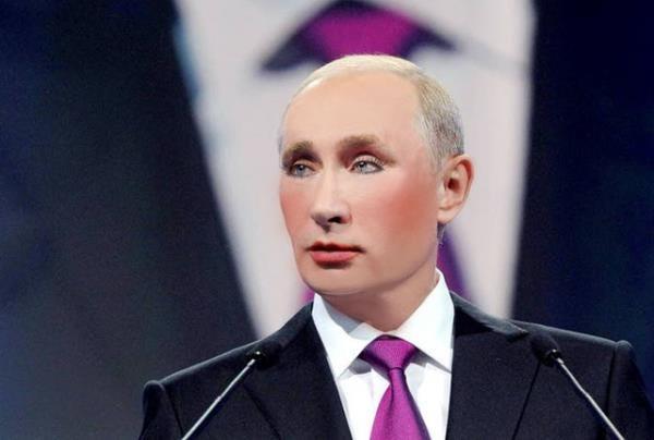 Россиянам запрещено раскрашивать Путина Fighting Russian