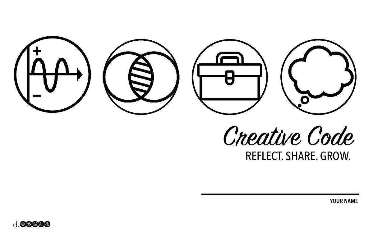 Creative Code A Workshop To Grow Creative Confidence