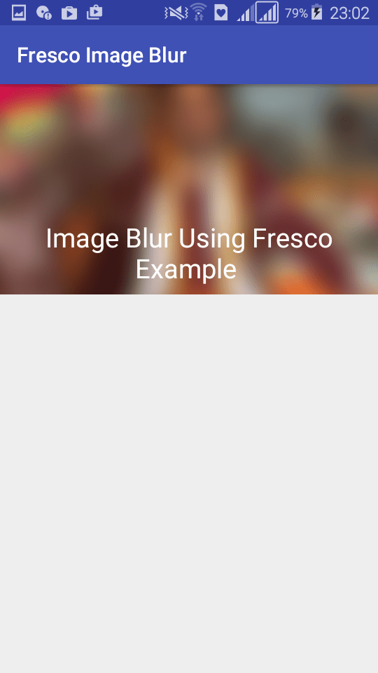 Fastest Image Blur In Android Using Fresco AndroidPub