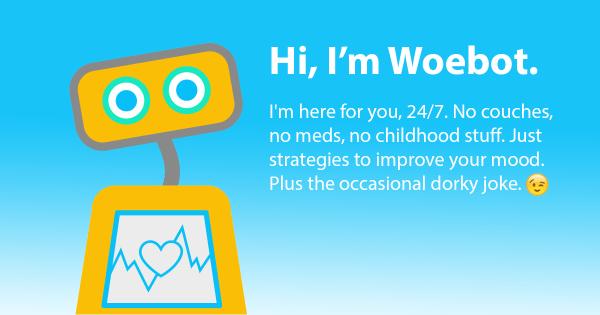 Woebot: AI for mental health – Andrew Ng – Medium