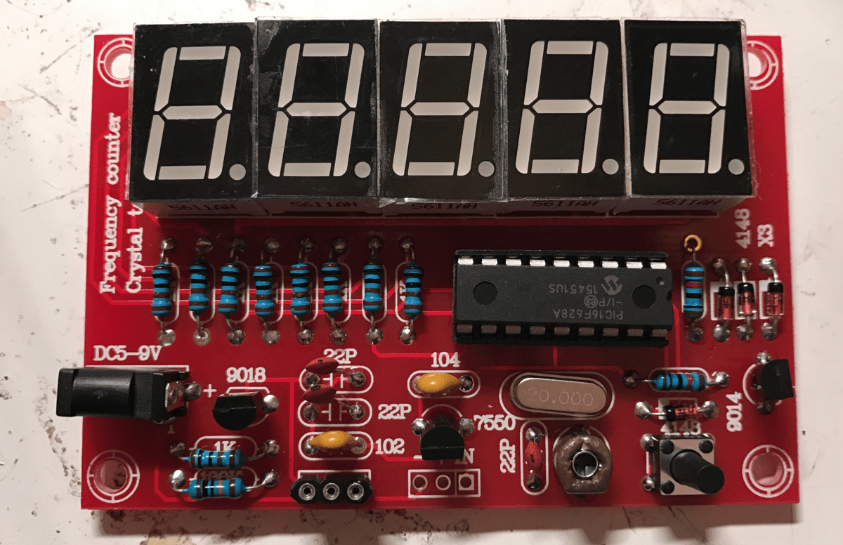 Crystal Oscillator Tester Frequency Counter Kit Review