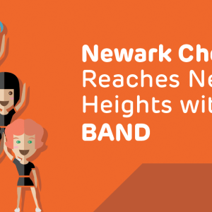 Newark Cheer Force Reaches New Heights with BAND