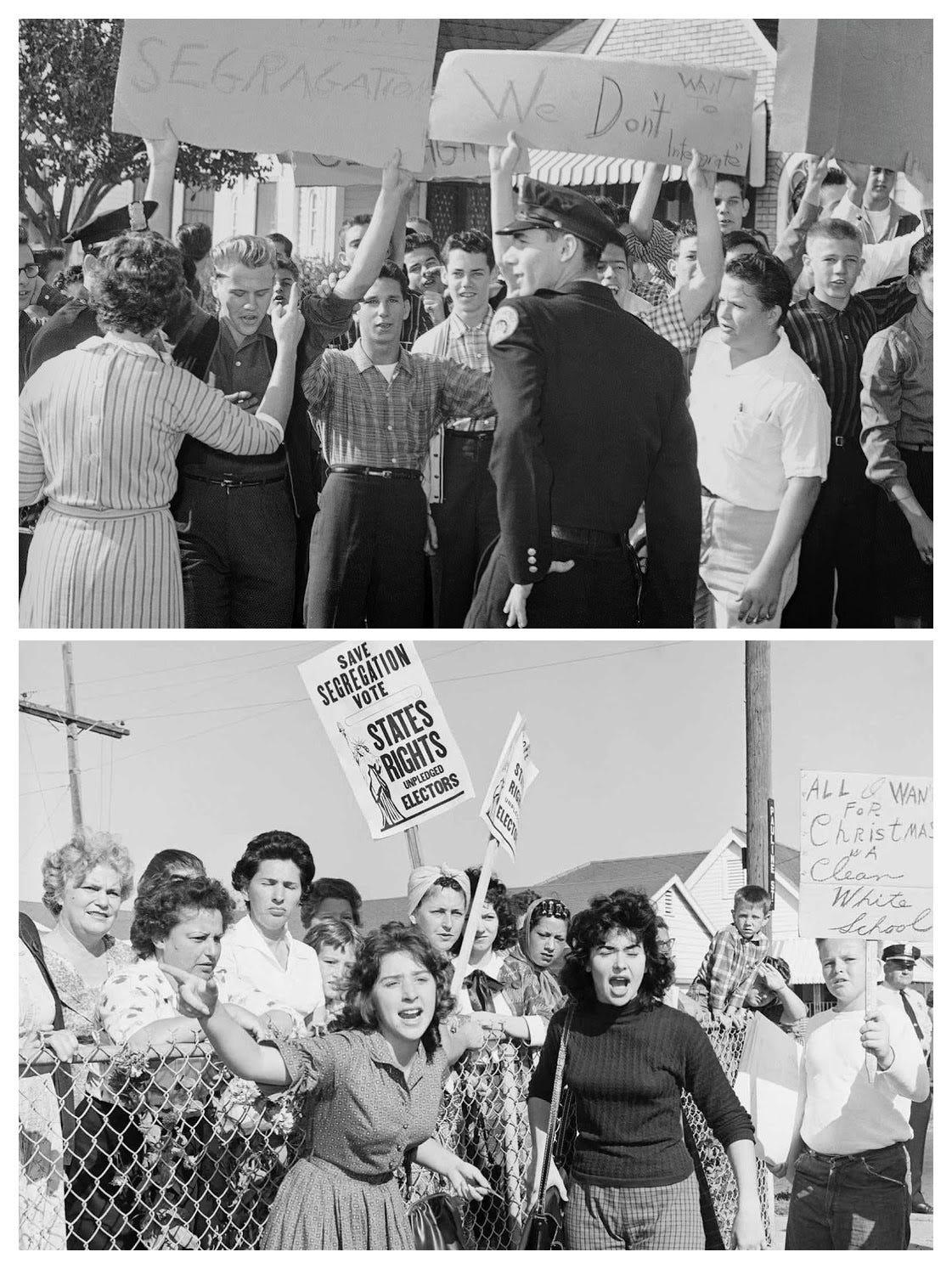 Ruby Bridges First Day Of School Mark Ricks Medium
