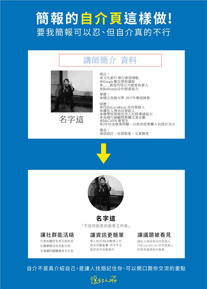 自我介紹不尷尬!PPT自介模板下載 – graphic design:Flying info – Medium