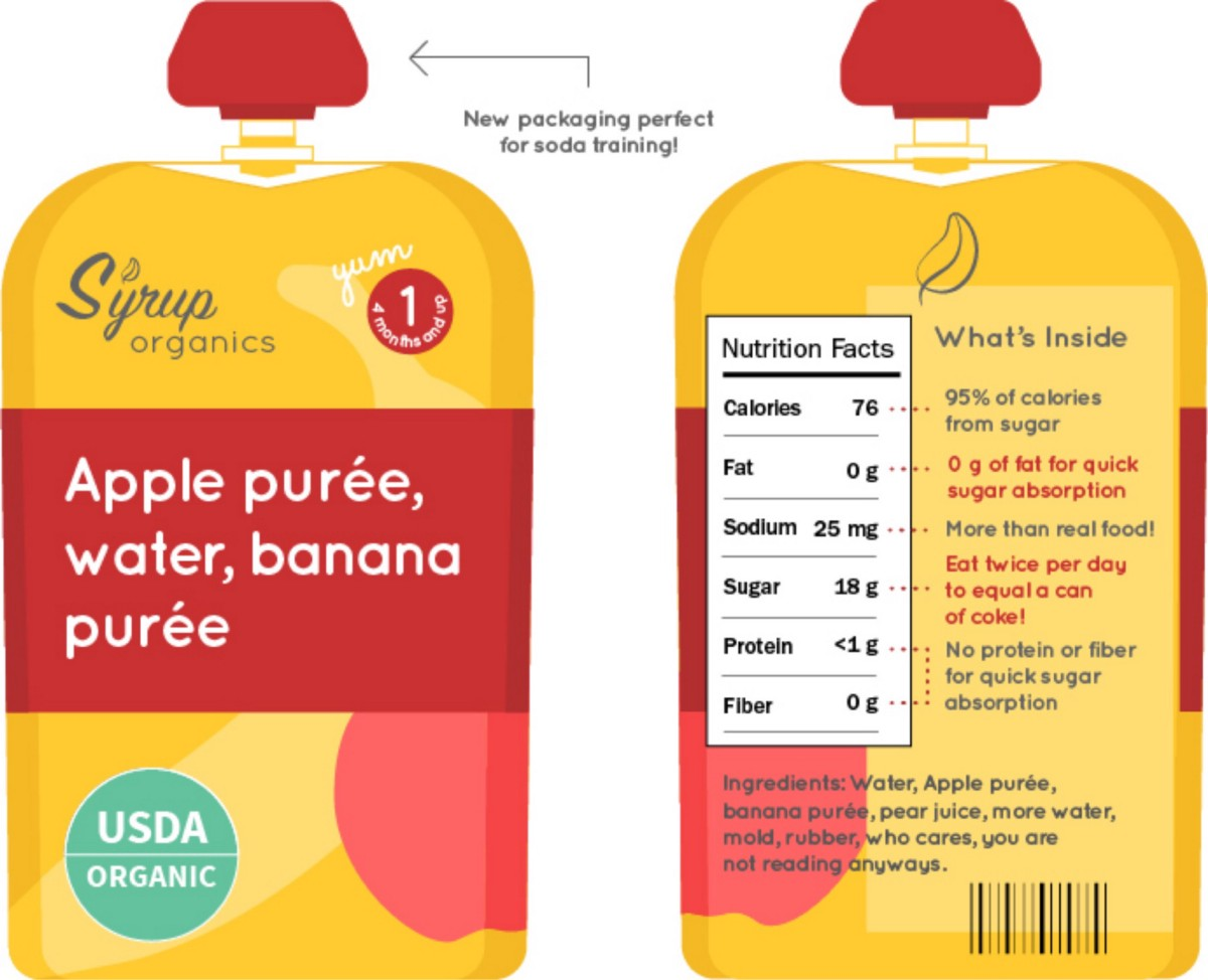 Baby Food Labels Are Lying To You Michelle Davenport