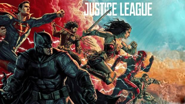 Lee Bermejo Justice League Movie Poster Released for MondoCon